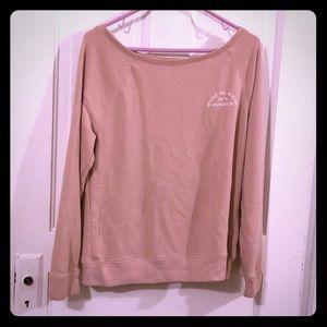 Victoria's Secret PINK cut out back sweatshirt GUC